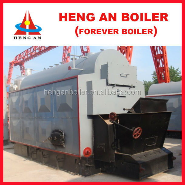 automatic coal-fired boiler for sale with fuel filling and ash removing