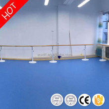 Various kinds high quality thick vinyl roll dance pvc floor for sale
