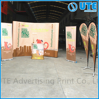 custom pop up banner, back drop banner stand,trade show display for advertising