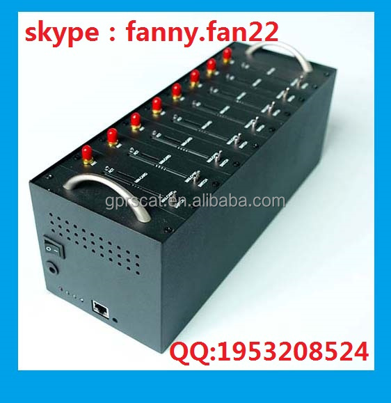 Factory Sell 8 port Q2406 imei modem,imei number usb modem