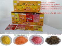 Popular in Hot season country concentrate fruit juice instant drink powder factory