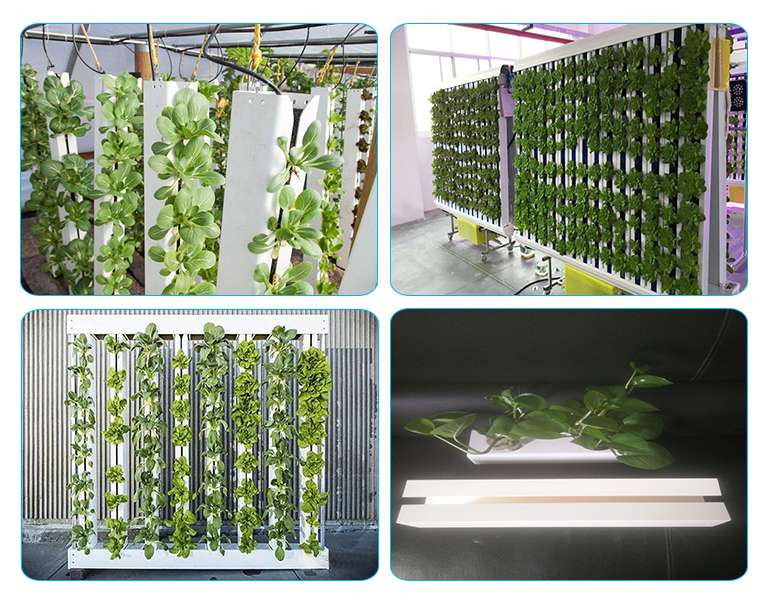 Greenhouse growing system PVC hydroponic vertical garden tower