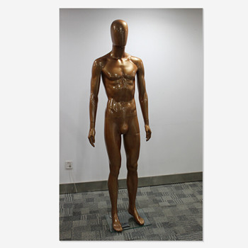 FRP bronze-coloured male display mannequin