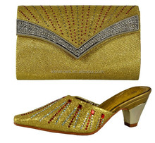 Italian African Shoes and Bags Matching Set Italy Shoe and Bag Set Women Shoe and Bag To Match 66055