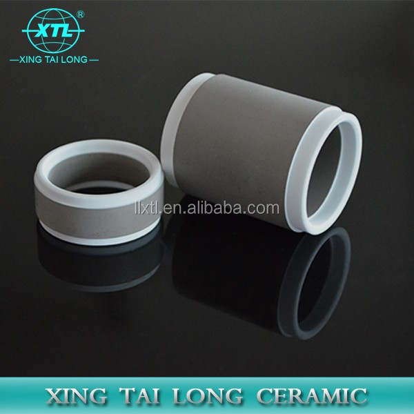 High electrical resistivity/alumina/metallizied ceramic tube/for Insulator rings
