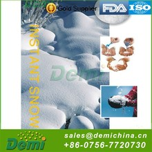 China manufacture professional polymer instant snow