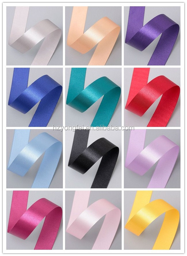2016 China Polyester Wholesale Satin Ribbon
