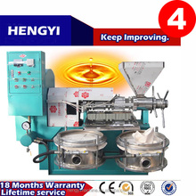 High efficiency stainless steel screw press/almond oil extraction machine/cold-pressed oil extraction machine
