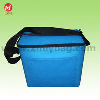 Promotional 600D Polyester Disposable Beer Can Cooler Bag