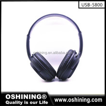 2017 hot selling wireless bluetooth headphones with FM radio wholesale price bluetooth headset stereo (OS-5800)