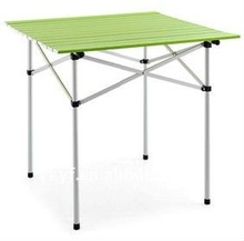 Portable Aluminum foldable table with powder coating