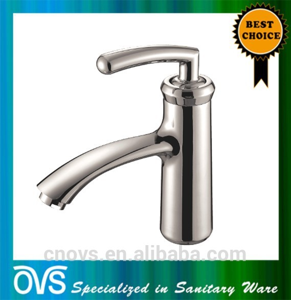 A843L ovs popular design brass fancy bathroom sink faucets