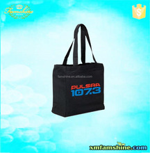 promotion canvas men custom book bags with logo