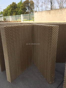 Main cooling pad with brown color
