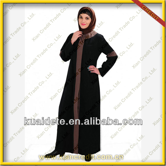 2014 latest new design abaya islamic clothes kaftan abaya dubai abaya for women KDT1017