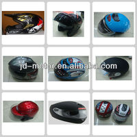 open face motorcycle helmet for head protection