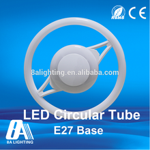 CE approved indoor ceiling hanging ring tube e27 e26 12w rgb led ring light
