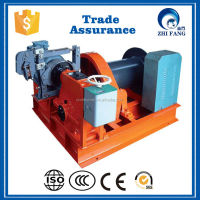 10t Lifting Capacity with 200m Wire Rope Capacity Electric Winch