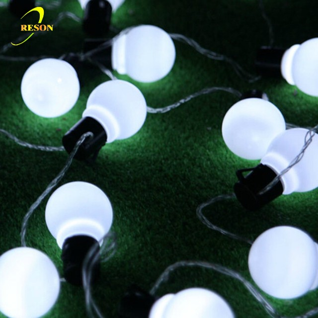 Christmas Ornaments 50mm Balls Fairy Party Light Ball String For Home Decoration