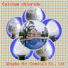 Calcium Chloride 74% flake for water treatment