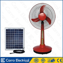 New technology prime quality solar desktop fan
