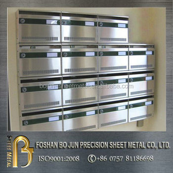 China Metal Furniture Manufacturer Customized Indoor Stainless Steel Apartment Mail Box Buy