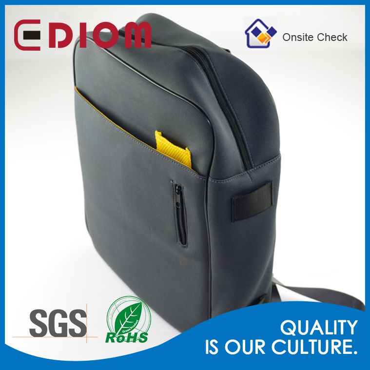 Business black backpack,wholesale neoprene 20 inch laptop sleeve