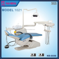 Fujia dental chair technician philippines with deluxe adjustable high suction & deluxe sensor light