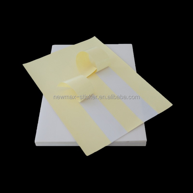 Conventional Mirror Coat Die Cut Label Sticker Self Adhesive Cast Coated Sticker Paper
