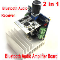Bluetooth Audio Amplifier Board TDA7379BTB Intelligent Home Appliances Car Bluetooth Audio Receiver Module