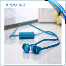Colorful sports headset cell phone wireless bluetooth ear plugs