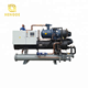 Cryogenic single compressor water cooled screw york chiller