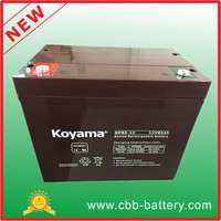 85ah 12V Valve regulated lead acid battery for ups