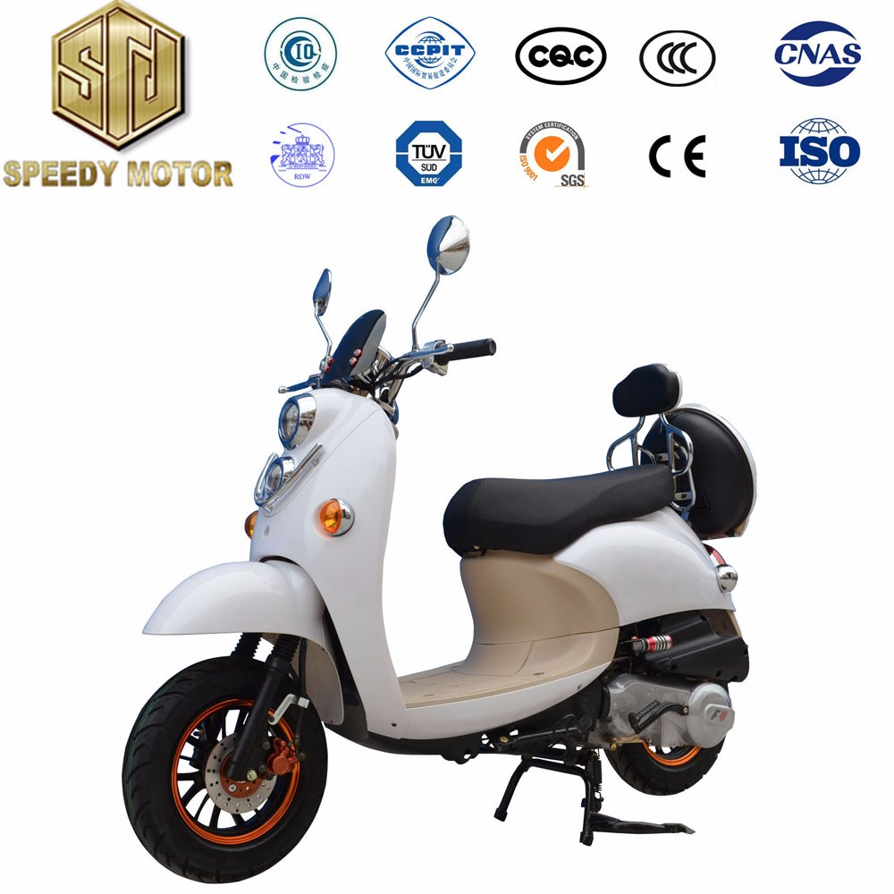 front tank headlight composite fibre backseat adult scooter for sale