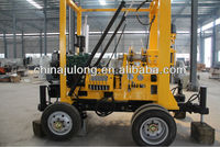 XYX-3 trailer mounted drilling rig water well drilling machine