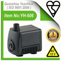 Submersible Micro Fountain Pumps(Model No.:YH-606)
