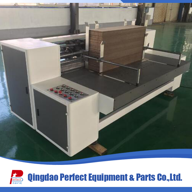 Small carton cardboard slotter machine