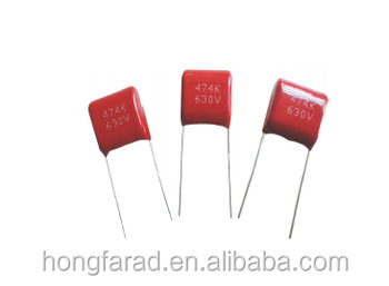 High end Metallized polypropylene film capacitor (Dipped) CBB22 MPD