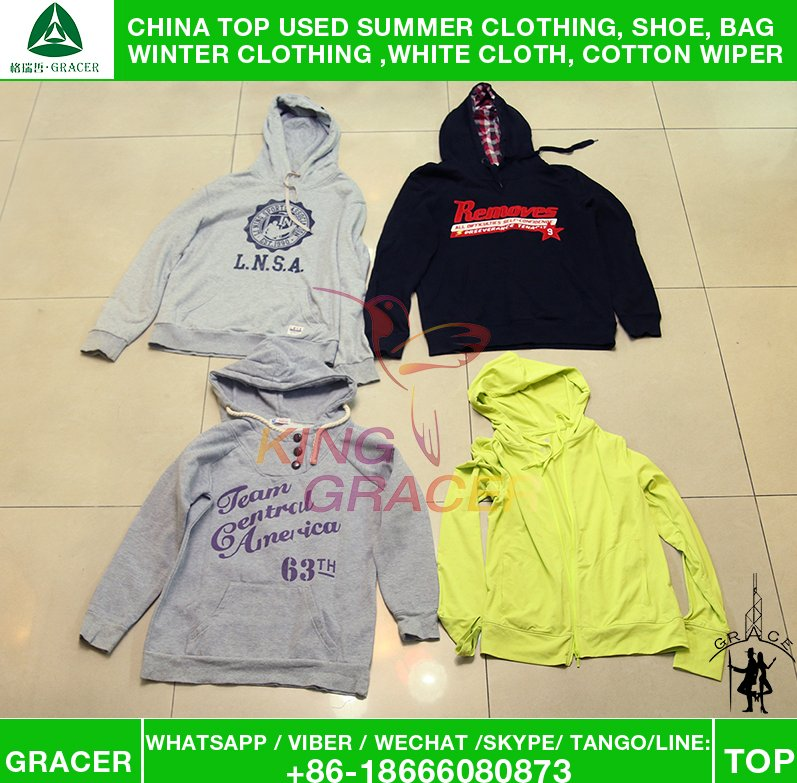 Gracer Wholesale to Georgia Original Hoody Buy Used Clothes Bulk