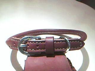 Hand Sitched Rolled Pet Collars