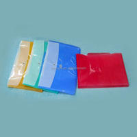 transparent plastic ring binder folder