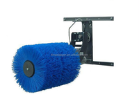 electric automatic cow brush