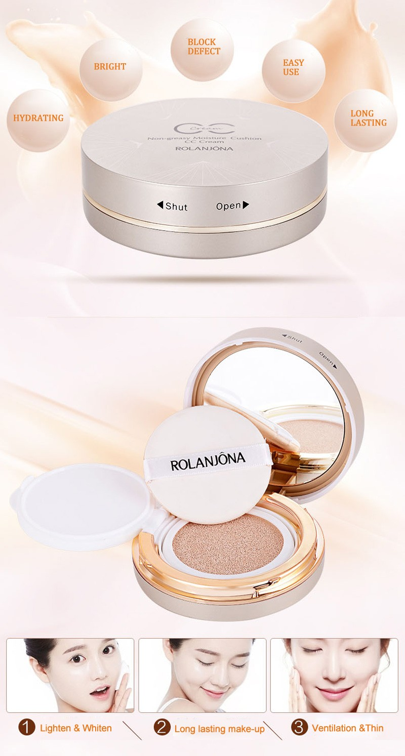 Rolanjona Snow BB Soothing Cushion korea whitening bb cream
