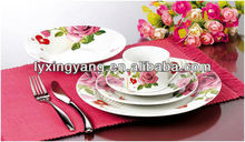 tableware brands, round tableware, new year tableware