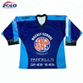 custom sublimated ice hockey practice jersey