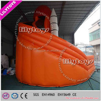 lilytoys giant adult inflatable slide, commercial inflatable airline slides, above ground slide