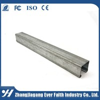 High Quality China Manufacturer Stainless Steel U-Channel Size