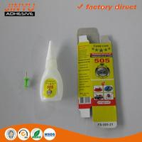 strong viscosity 100%Cyanoacrylate high temperature cyanoacrylate adhesive glue