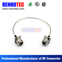 cable connetor, rf cable, 7/16 din to 7/16 din flange connector adapter for rf coaxial cable 7/8