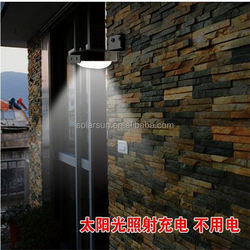 top quality best sale made in China ningbo cixi manufactureroutside solar wall lights